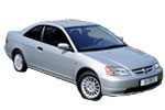 Civic купе VII 2001 - 2005